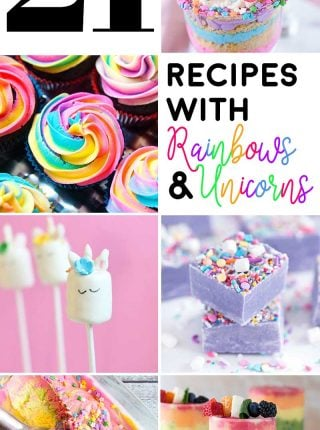 21 Recipes with Rainbows and Unicorns