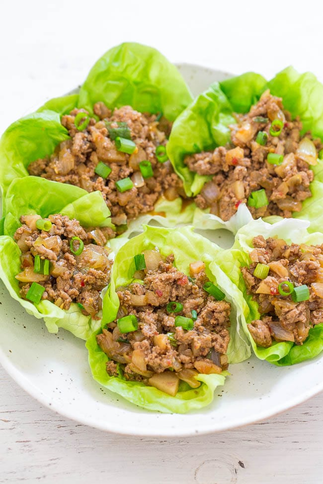 P.F. Chang's Chicken Lettuce Wraps (Copycat Recipe)