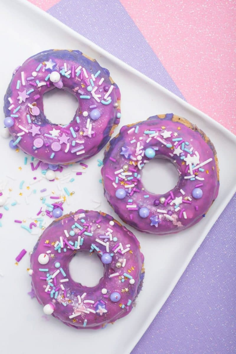 Unicorn Sprinkle Doughnuts