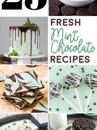23 Fresh Mint Chocolate Recipes