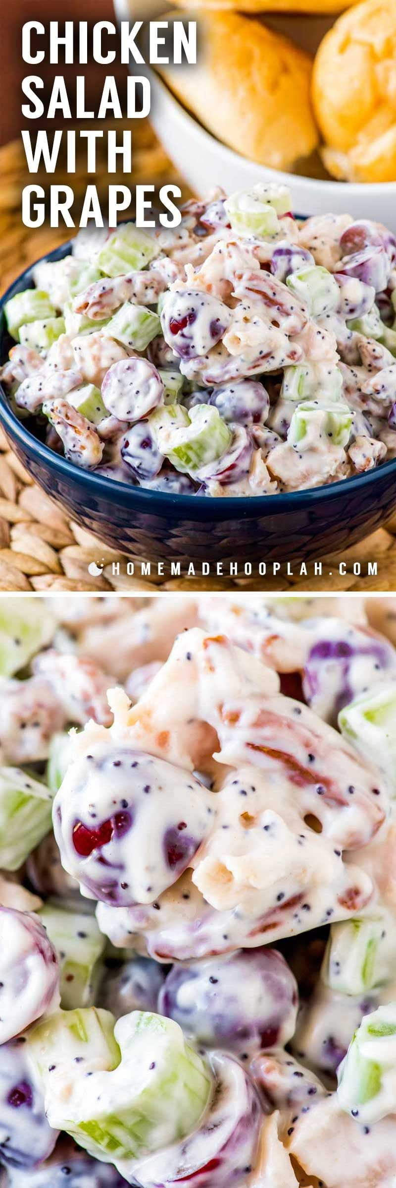 A full tutorial on how to make chicken salad at home.