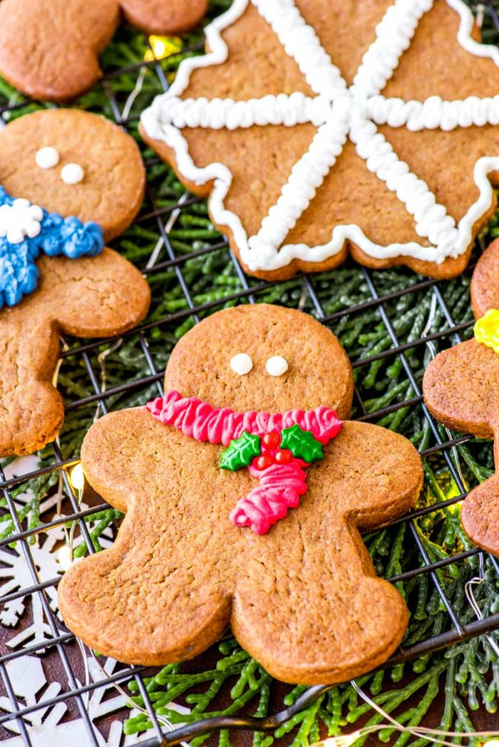 Gingerbread cookie recipe for the holidays.