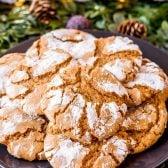 An easy recipe for molasses crinkles
