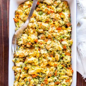 Cheesy Herb Stuffing