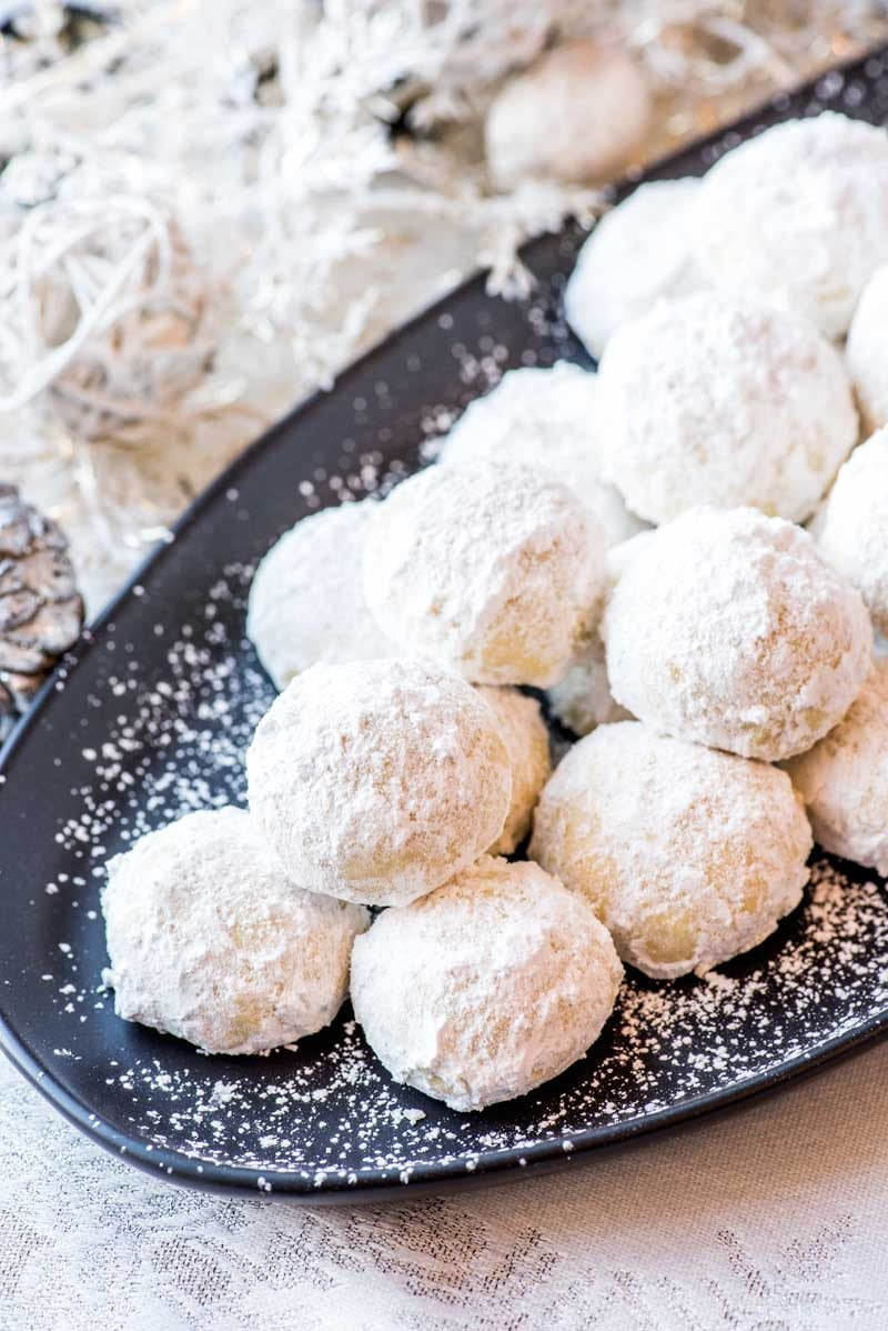 Mexican Wedding Cookies Homemade Hooplah