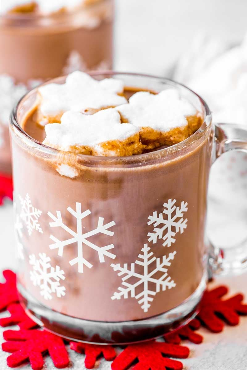 Easy homemade hot chocolate crock pot
