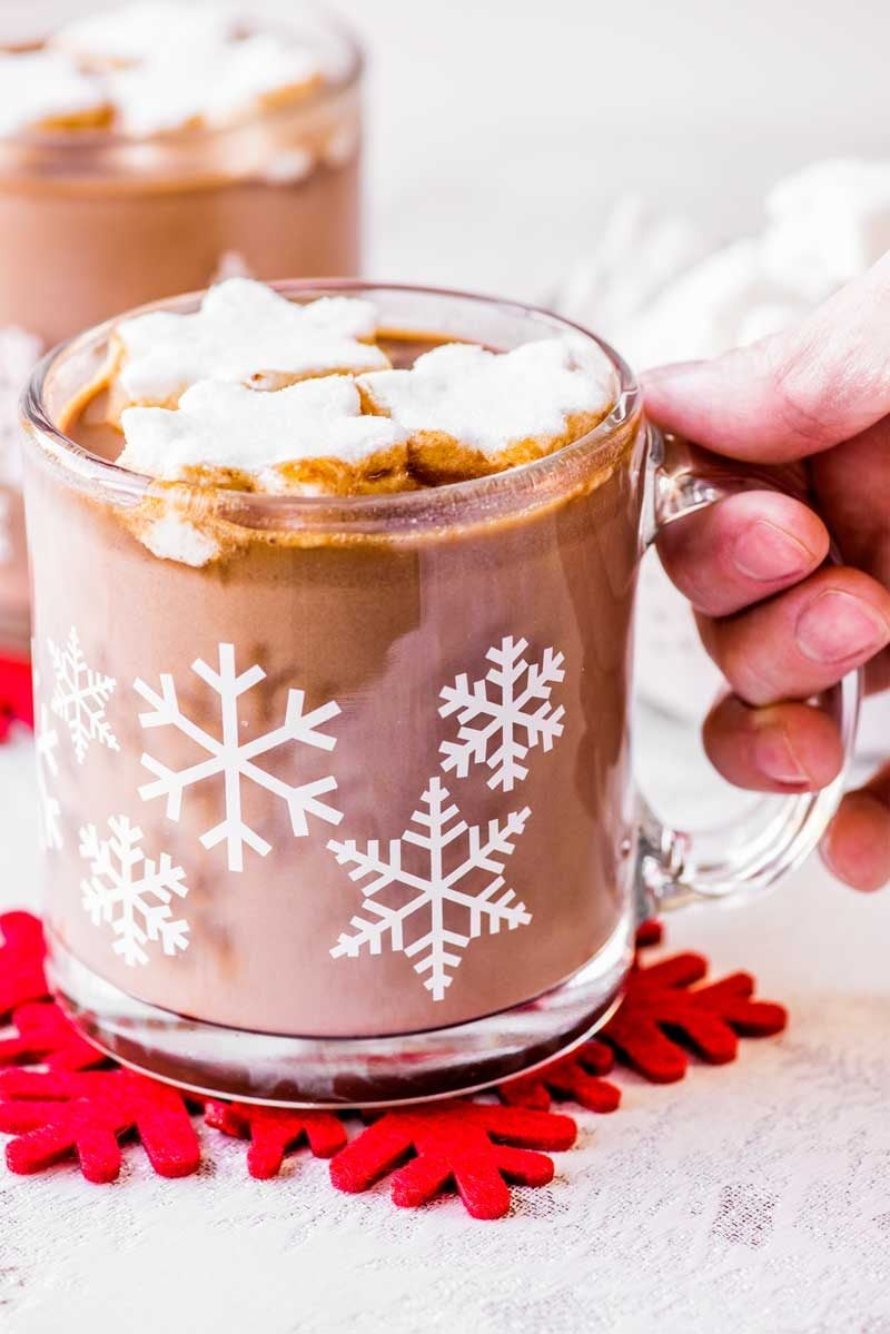 Hot chocolate recipe in a crock pot