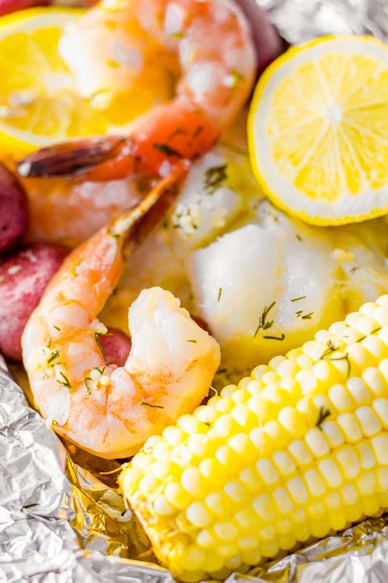How to make a seafood bake