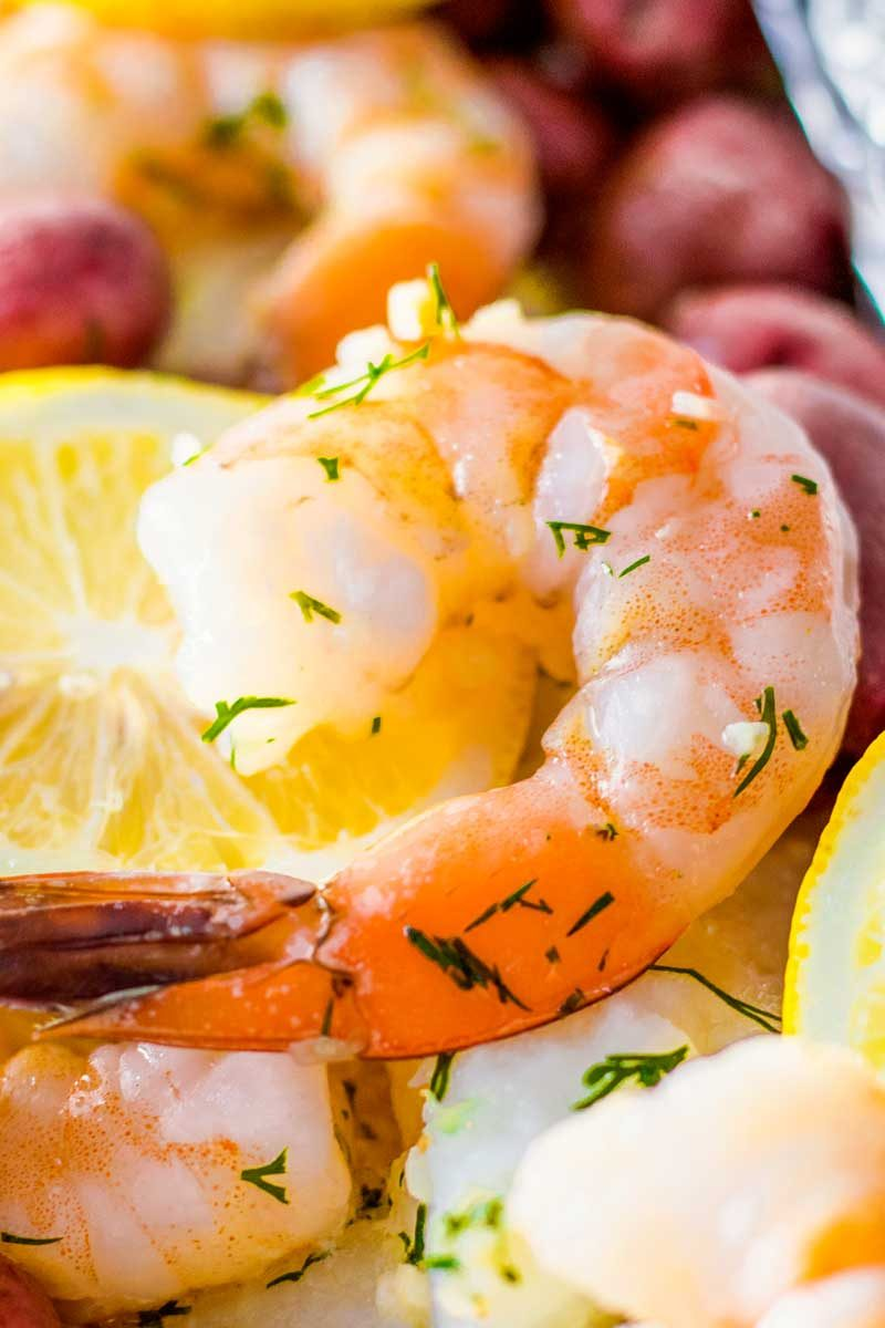 How to bake shrimp in foil in the oven