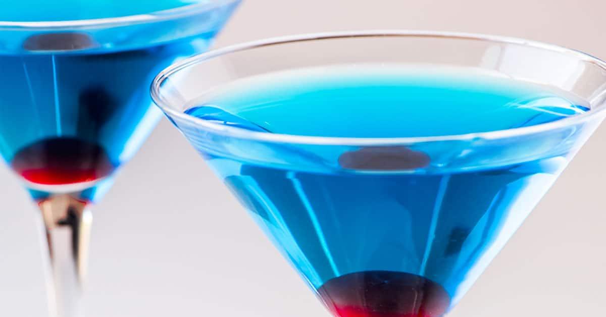 Sapphire Martini Homemade Hooplah