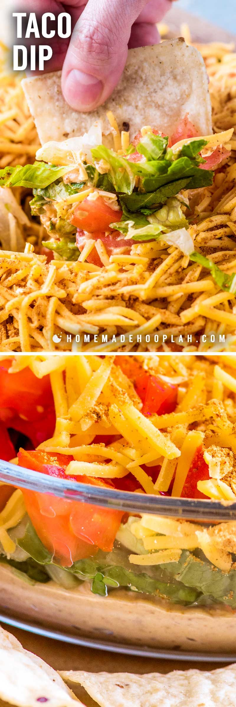 How to make taco salad dip with cream cheese