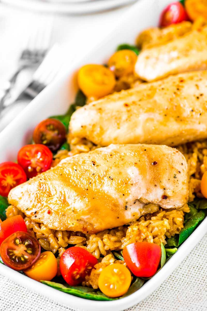 Italian dressing chicken marinade bake