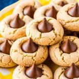 How to make peanut blossom cookies from scratch