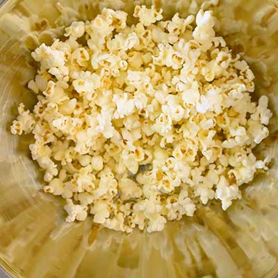 Popcorn Salad Step 2 - Add popcorn to an extra large bowl.