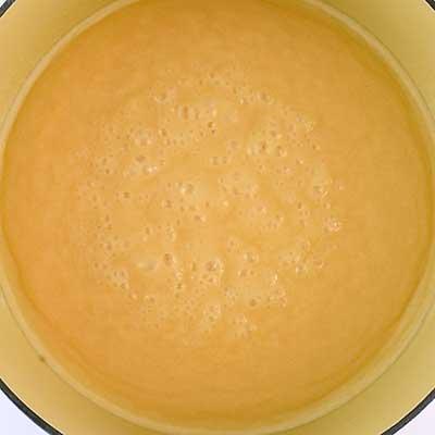 Triple Chocolate Fudge Step 1 - Bring to a boil.