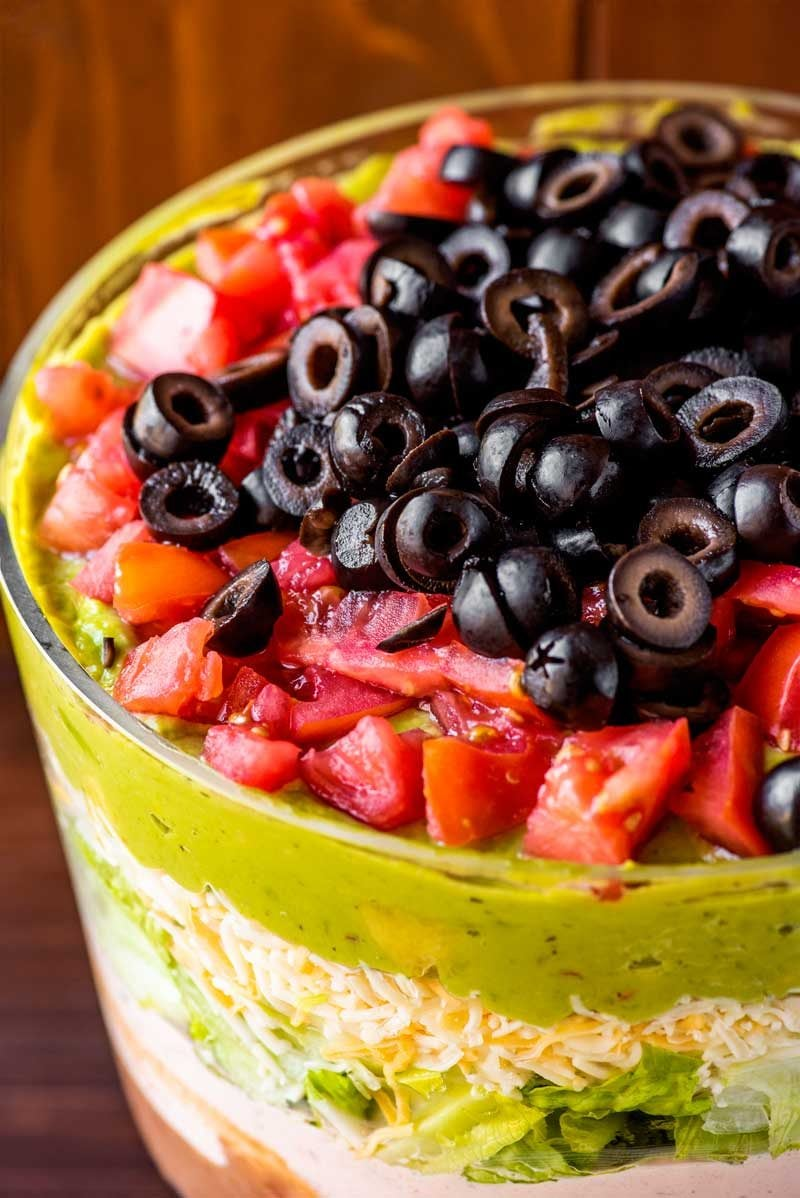 7 layer dip recipe.