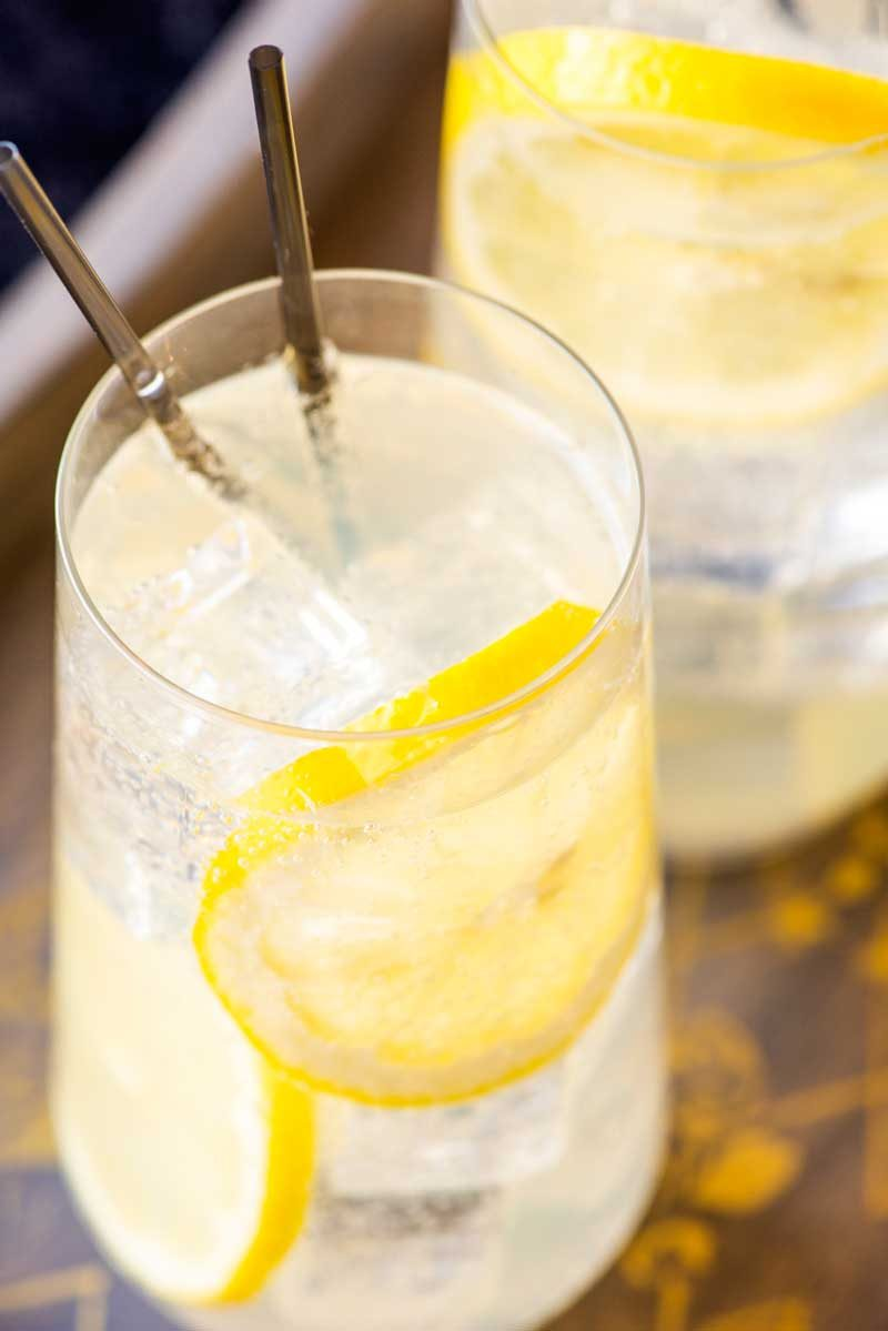 How to make a tom collins cocktail.