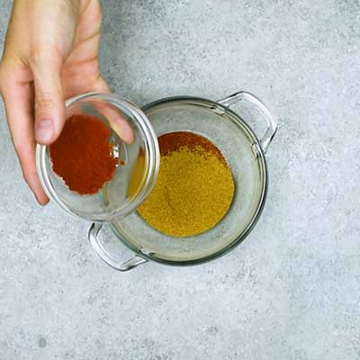 Homemade Taco Seasoning Step 1 - Add smoked paprika.