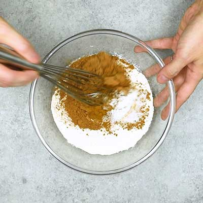 Chocolate Zucchini Bread Step 1 - Mix well.