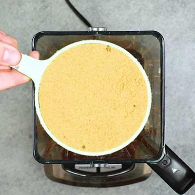 Homemade BBQ Sauce Step 1 - Add brown sugar.