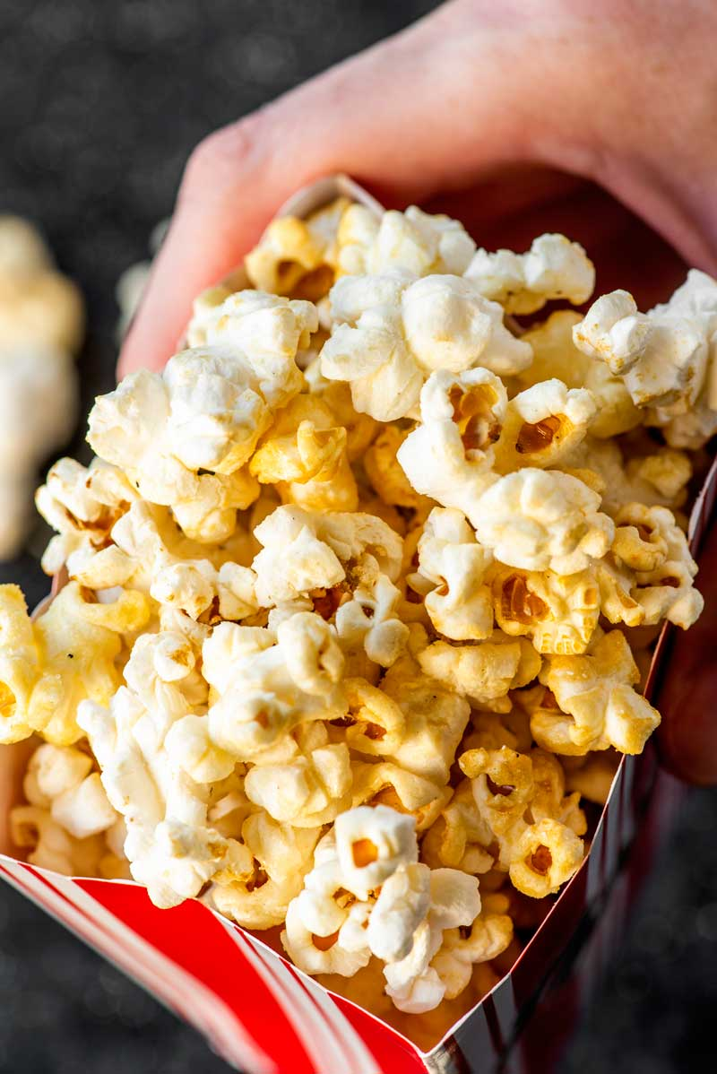 Sweet and salty kettle corn recipe.