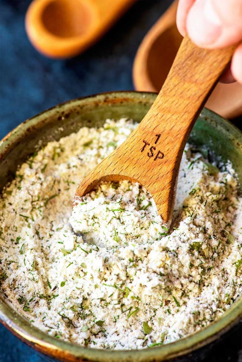Ranch seasoning recipe made from scratch.