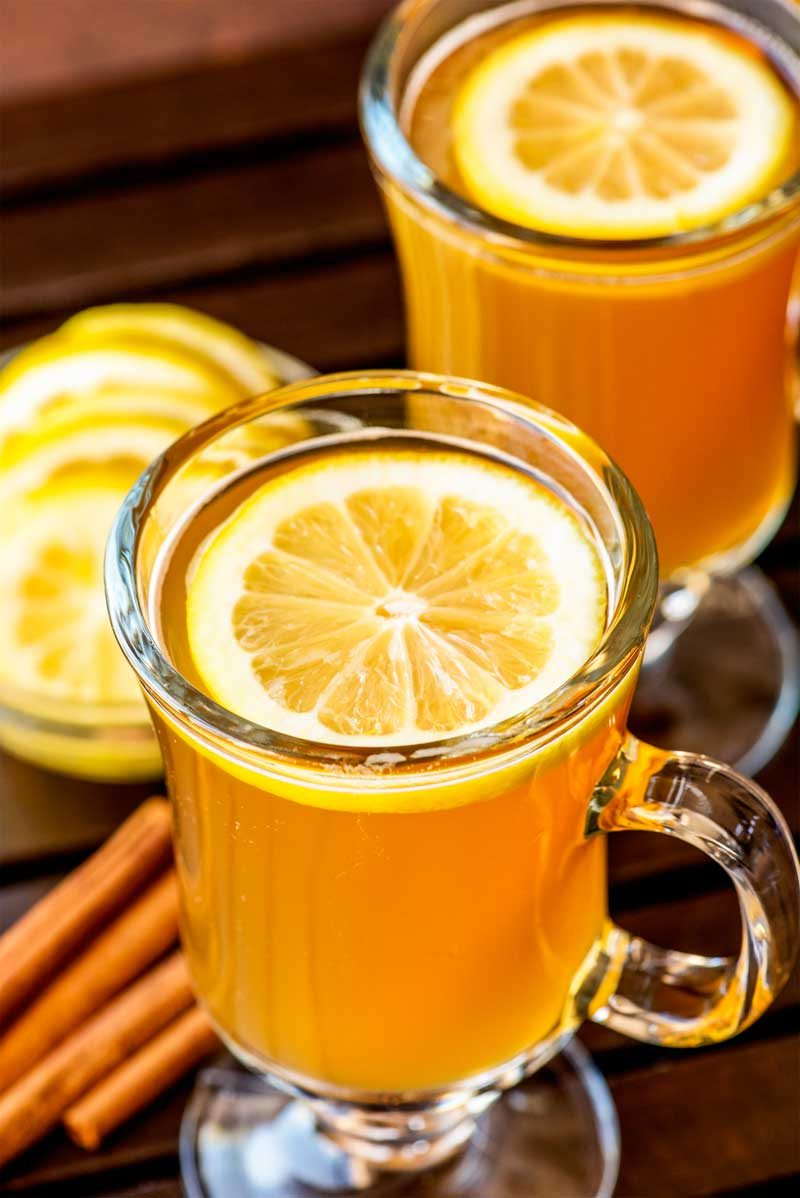 How to make a hot toddy for a cold.