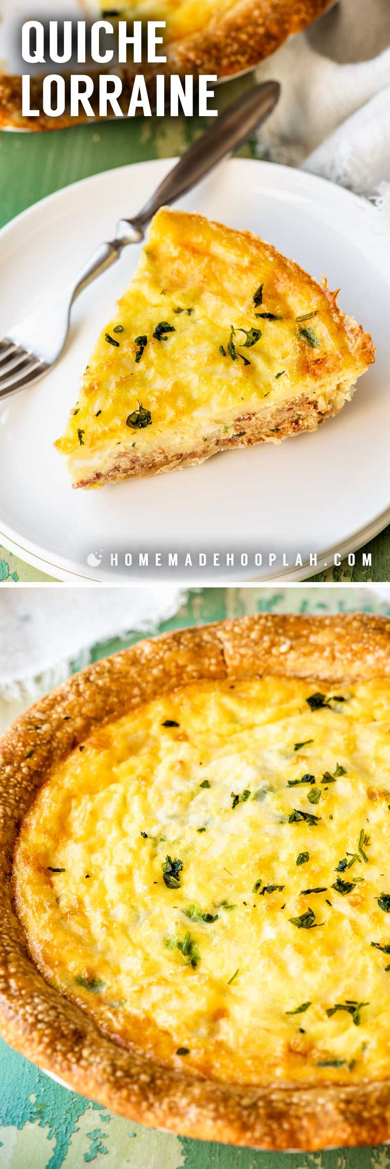 How to make quiche Lorraine from scratch.
