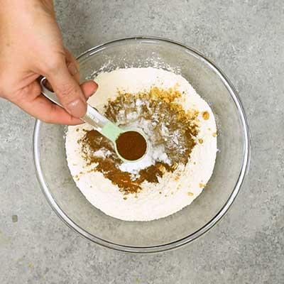 Gingerbread Loaf Step 1 - Add cloves.