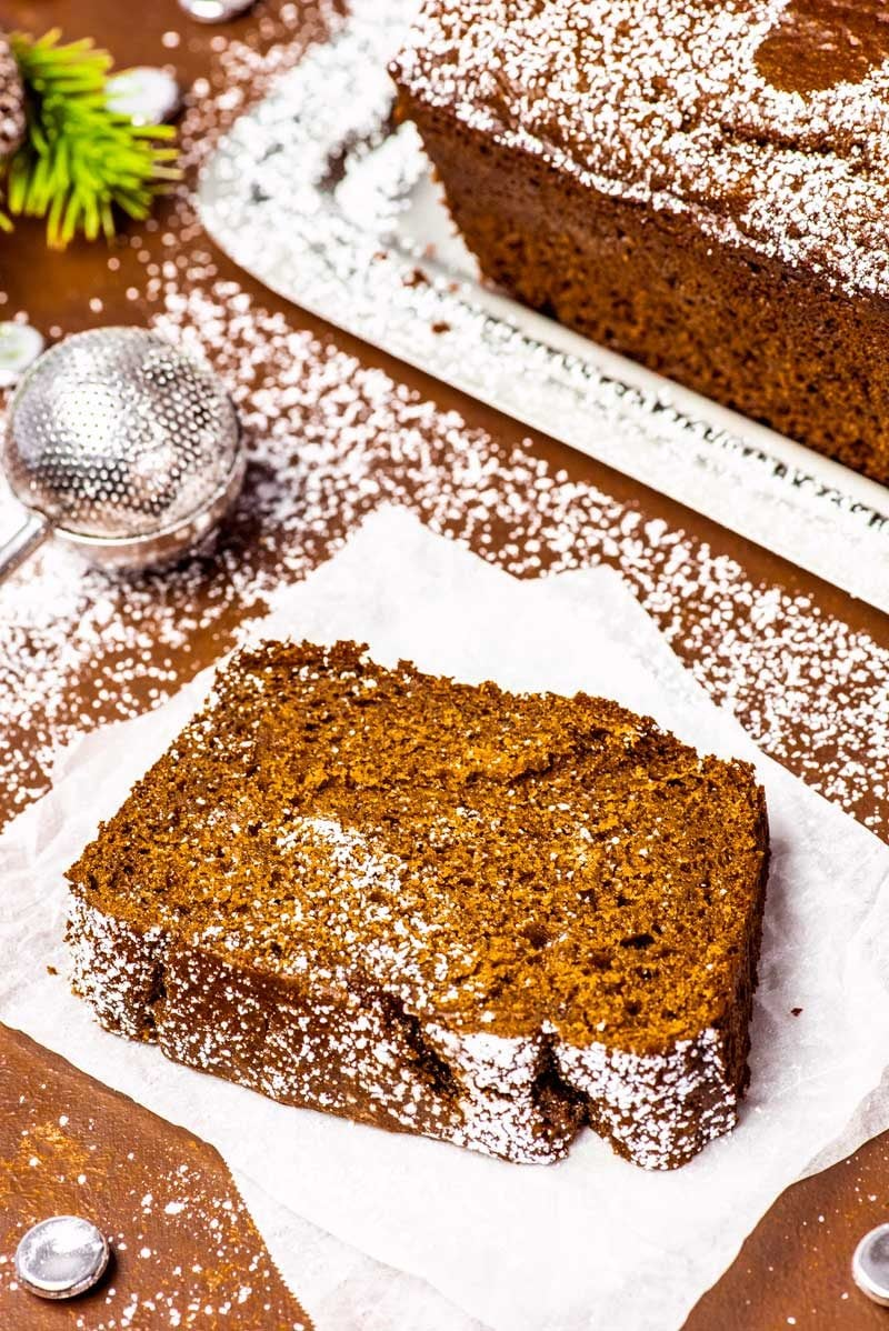 A copycat Starbucks gingerbread loaf recipe.