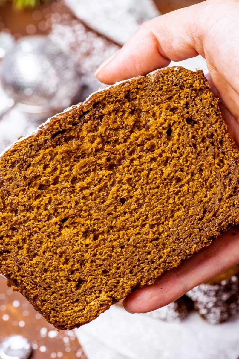 Gingerbread Loaf Homemade Hooplah