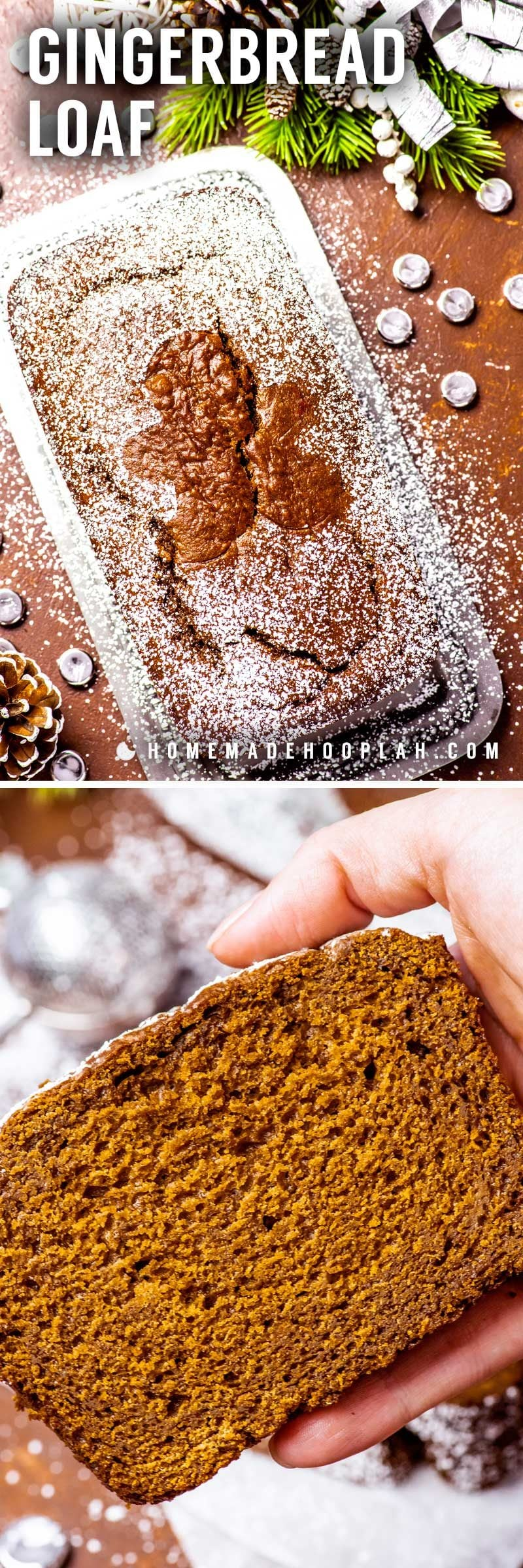 Bread that tastes like gingerbread cookies.
