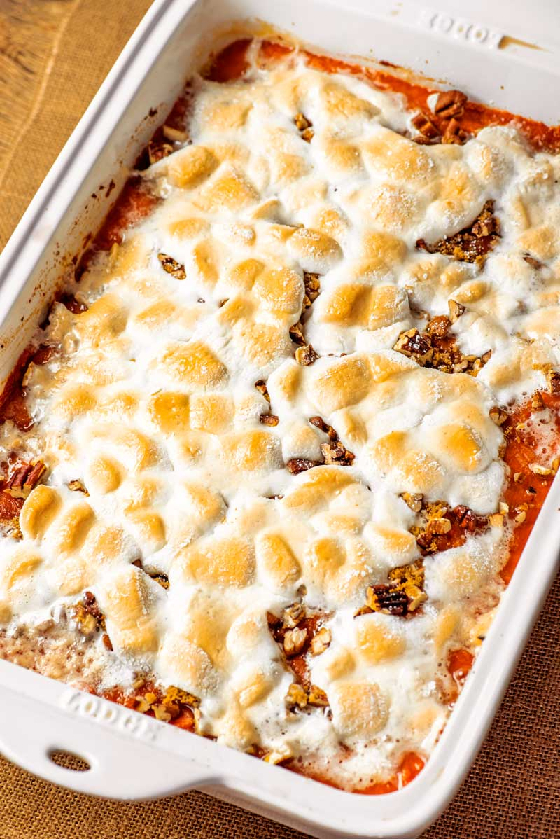 Sweet Potato Casserole Homemade Hooplah