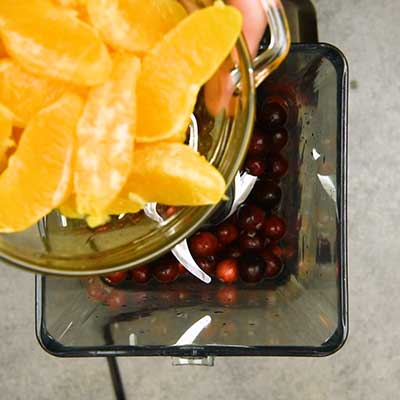 Cranberry Orange Jello Salad Step 5 - Add oranges.