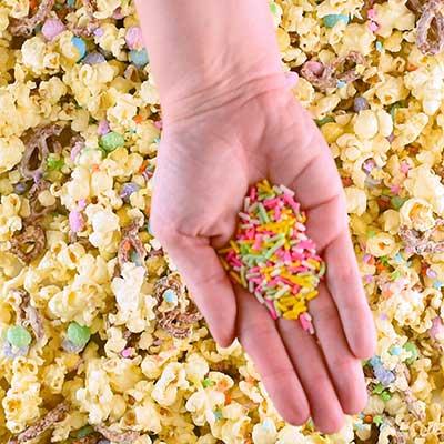 Bunny Bait Step 3 - Add sprinkles.