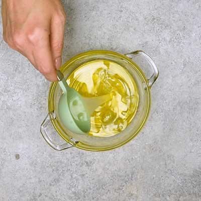 Cowboy Caviar Step 1 - Add lime juice.