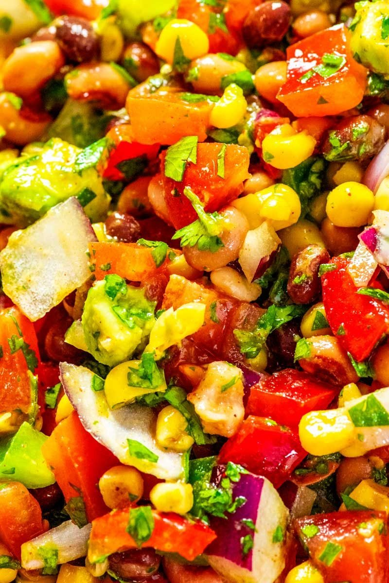 How to make cowboy caviar from scratch.