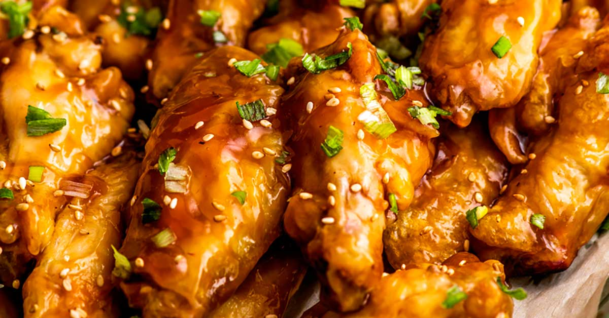 Teriyaki Chicken Wings Homemade Hooplah