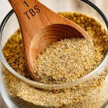 Lemon Pepper Seasoning! Ideal for fish, chicken, or hamburgers, a dash of this homemade lemon pepper seasoning can add just the right amount of tangy flavor to your favorite dishes. | HomemadeHooplah.com