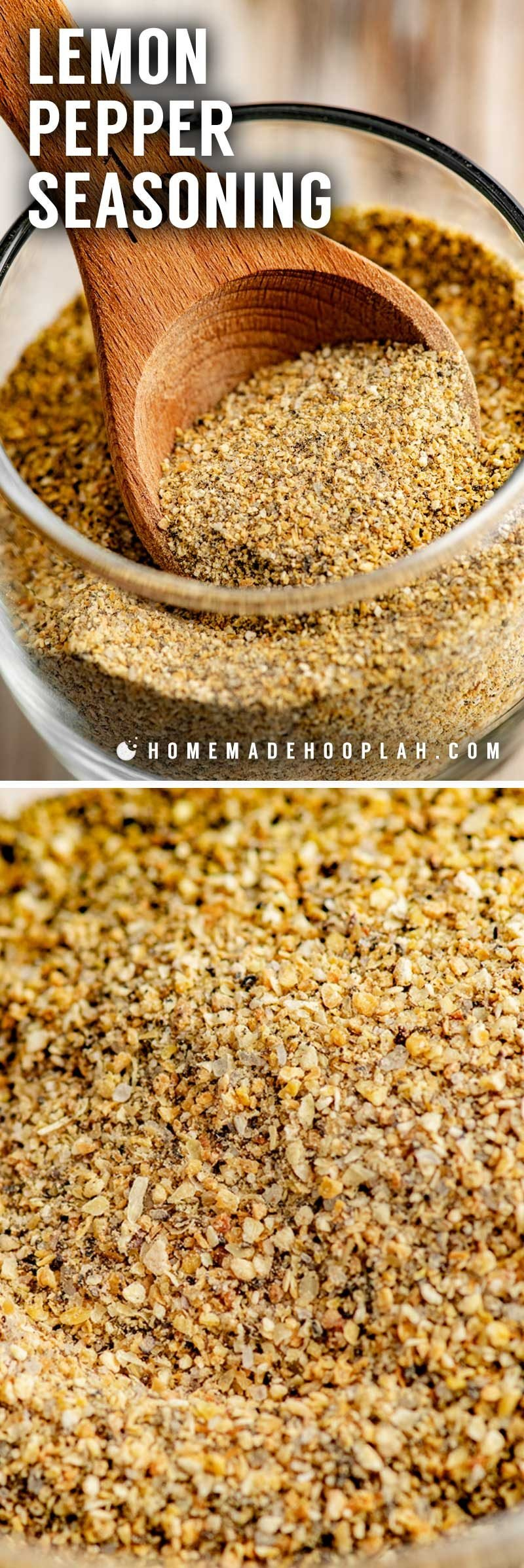 The best lemon pepper seasoning from scratch.