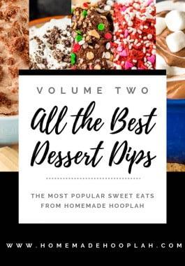 Dessert Dips Volume 2